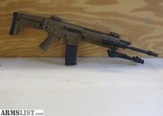 "For Sale: Bushmaster BACR 5.56 FDE RIFLE 16.5"" 223"