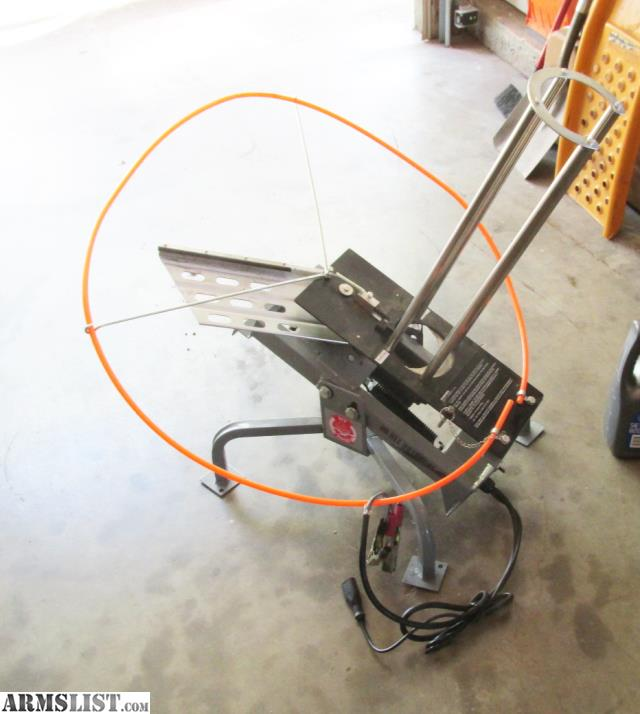 Shooting In Canon City Colorado: For Sale: Auto Clay Pigeon Thrower