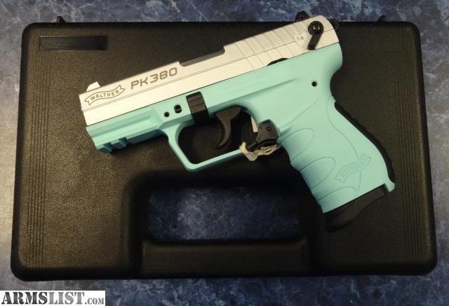 ARMSLIST - For Sale: New Walther PK380 Tiffany Blue W/ Mag