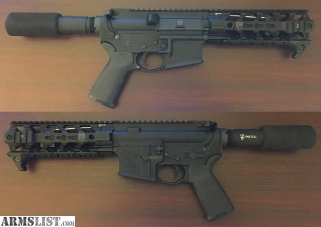 armslist for sale custom built ar pistol. Black Bedroom Furniture Sets. Home Design Ideas
