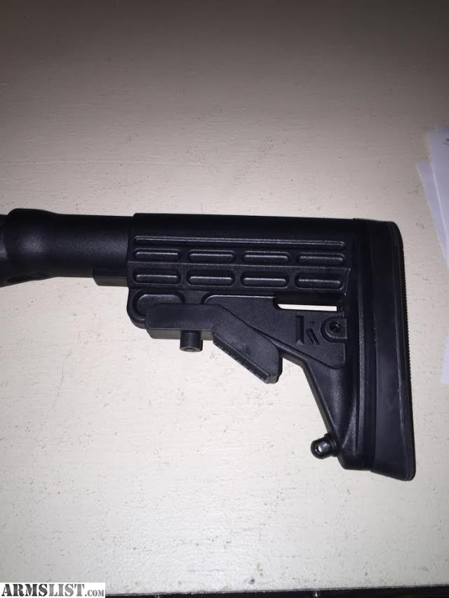 Blackhawk Six Position Stock And Balckhawk Forend. Gun Is Brand New. Took  It On Trade To Get The Gun I Really Wanted And Since ...
