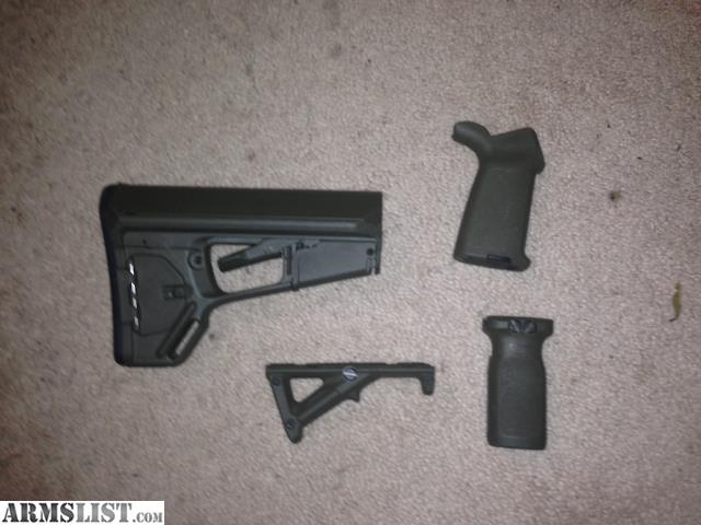 Armslist For Sale Od Green Magpul Acs L Stock And Moe