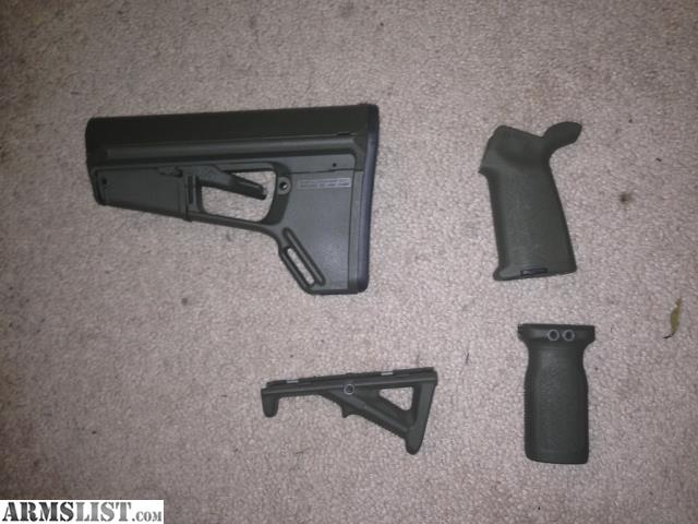 Armslist For Sale Od Green Magpul Acs L Stock And Moe Pistol Grip