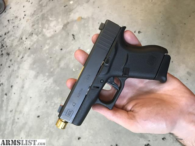 Armslist for trade glock 43 - Armslist For Trade Glock 43 With Threaded Barrel And