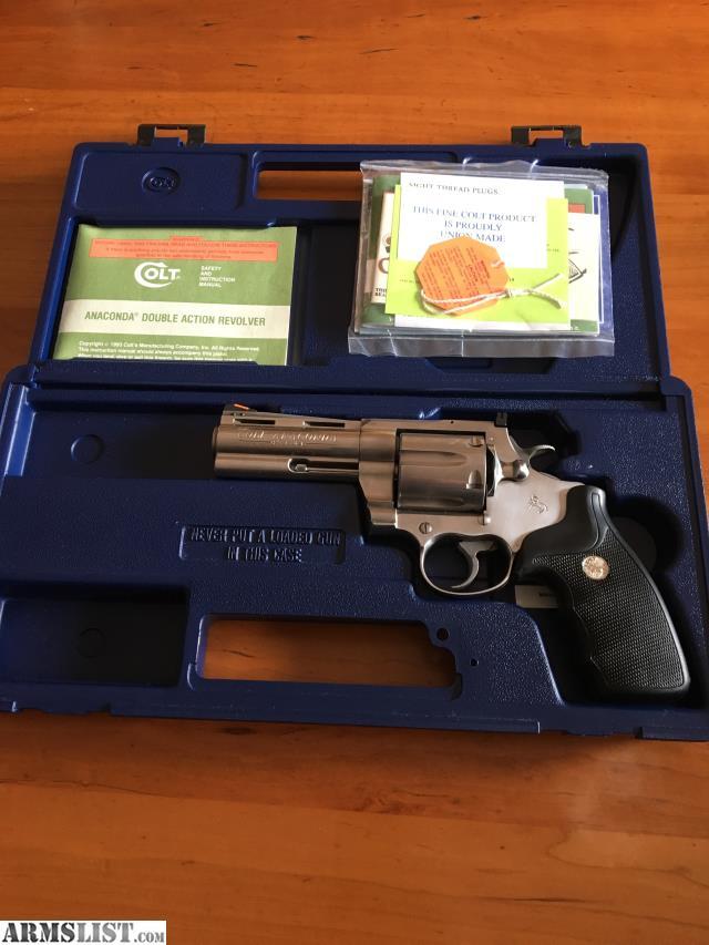 ARMSLIST - For Sale: Colt Anaconda  45 LC