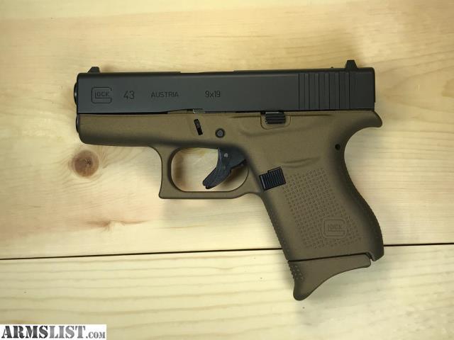 ARMSLIST - For Sale: Custom Burnt Bronze Cerakoted Glock ...