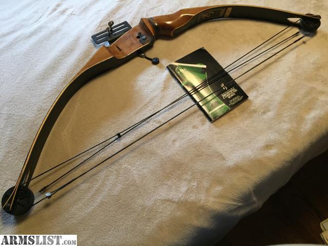 Armslist For Sale Browning Bantam Compound Bow Left