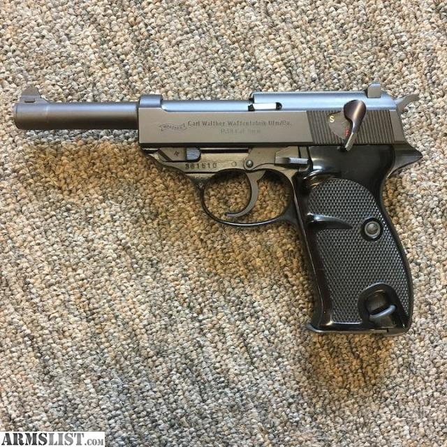 armslist for sale walther p38 9mm mfg germany w box rh armslist com umarex walther p38 manual walther p38 manual pdf