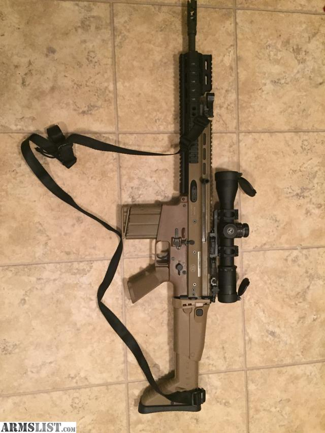 Have an fn scar 17s for sale it has a leupold mark 6 3 18x44mm scope