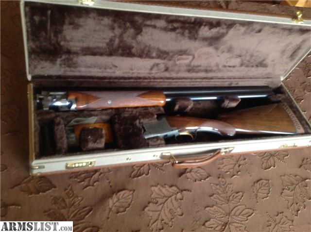 Belgium browning pigeon superposed with browning case serial number is