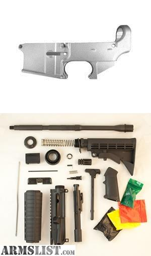 ARMSLIST - For Sale: Anderson Basic Gun Kit with 80% Lower