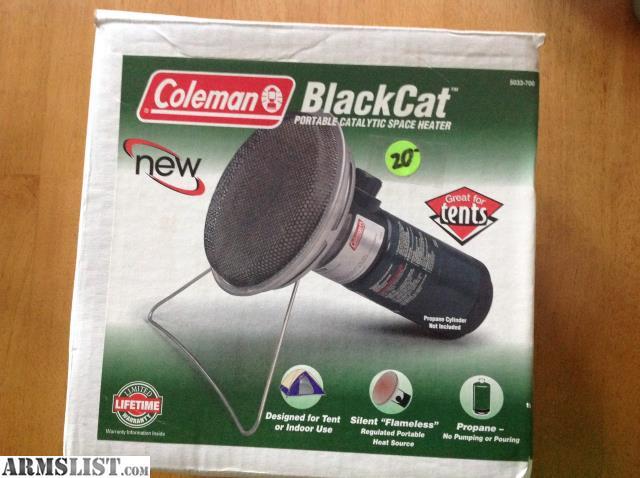 Armslist For Sale Coleman Blackcat Portable Catalytic
