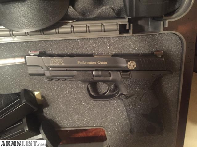 Armslist for sale smith wesson m p core ported for M p ported core 9mm
