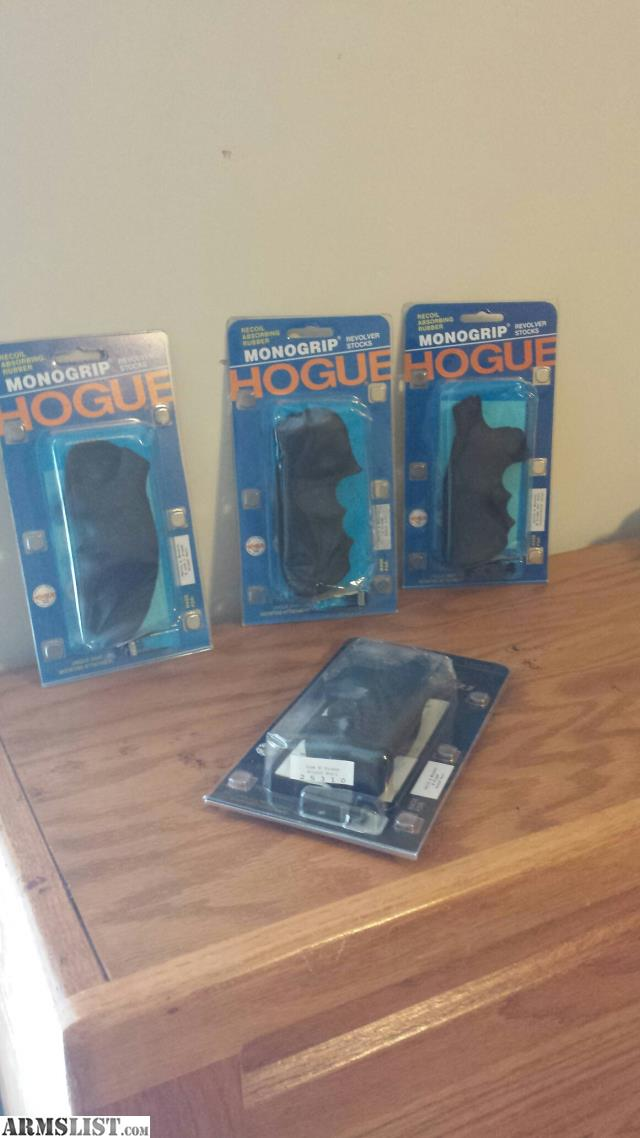 ARMSLIST - For Sale: Hogue S&W revolver grips