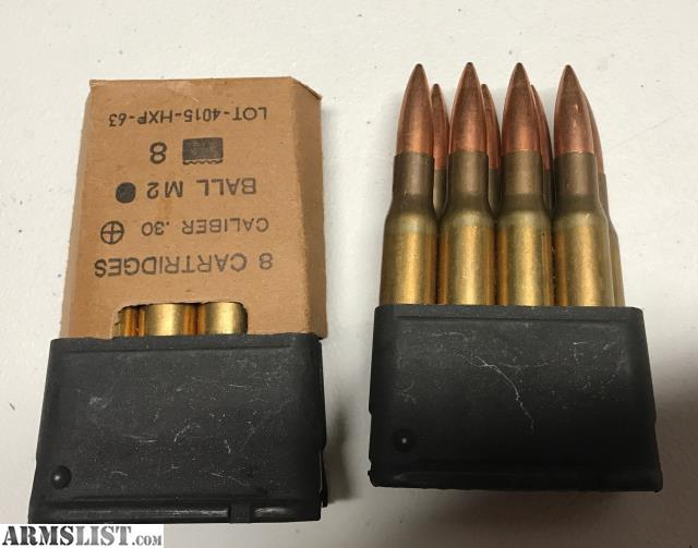 ARMSLIST - For Sale: 30-06 Greek HXP M1 Garand Ammo from ...