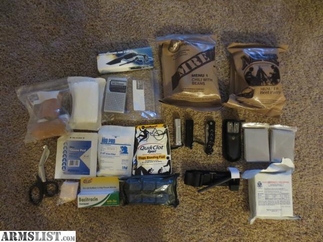 Armslist For Sale Emergency Supplies Bag