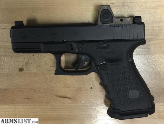 Armslist For Trade Glock 19 Mos W Trijicon Rmr