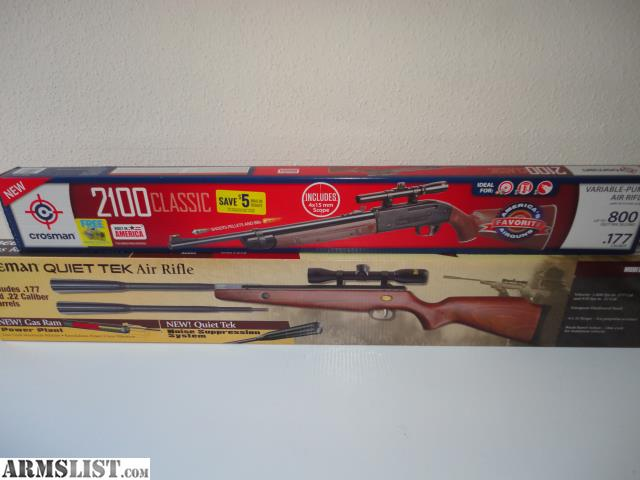 ARMSLIST - For Sale/Trade: 2 New In Box Air Rifles With