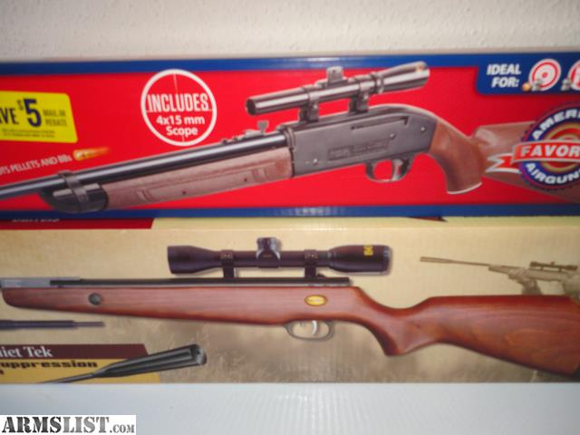 ARMSLIST - For Sale/Trade: 2 New In Box Air Rifles With Scopes