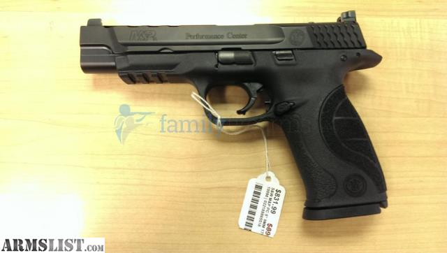 Armslist for sale s w smith m p pc core ported 9mm 10098 for M p ported core 9mm
