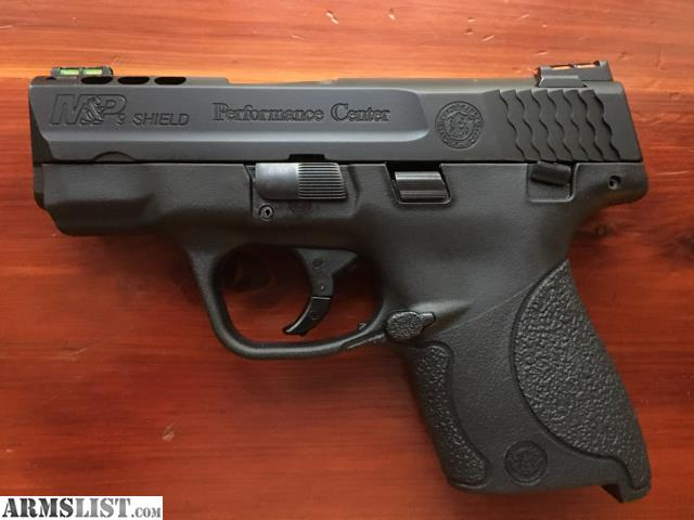 Smith And Wesson M&p Shield 45 Performance Center For Sale
