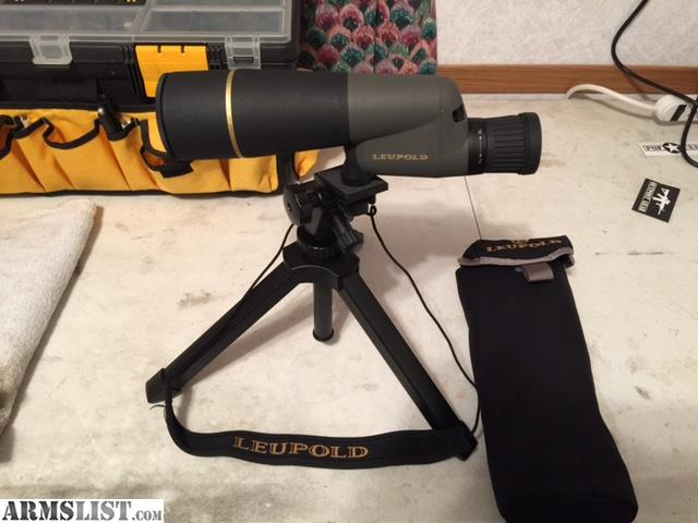 ARMSLIST For Sale Leupold pact spotting scope