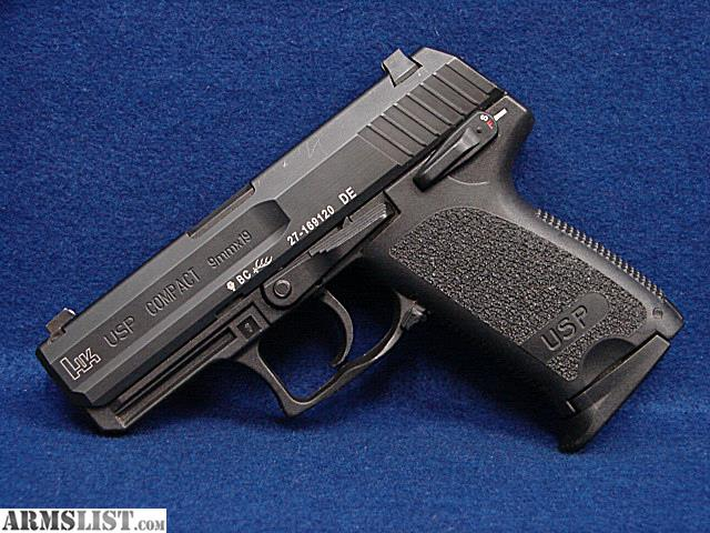ARMSLIST - For Sale: HK H&K USP Compact 9mm 3.5