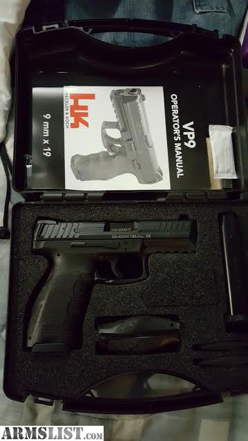 Armslist for sale trade hk vp9 with night sight and 4 mags for 560 salon grand junction