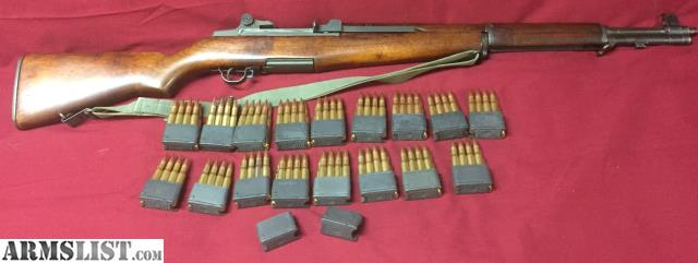 armslist for sale winchester m1 garand pkg and ammo