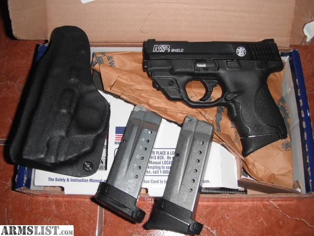 Smith And Wesson 9mm Shield 2 0 With Laser Holster - Bitterroot
