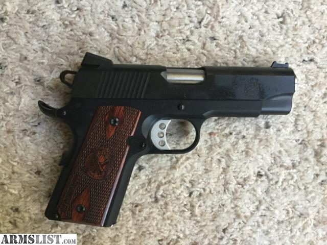 Armslist For Sale Springfield Range Officer Compact