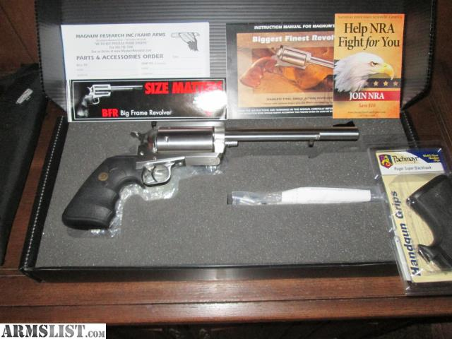 Armslist For Sale Brand New Magnum Research Bfr 45 70 Revolver