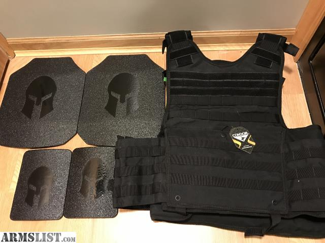 Armslist For Sale Ar550 Level 3 Plates And Condor Exo