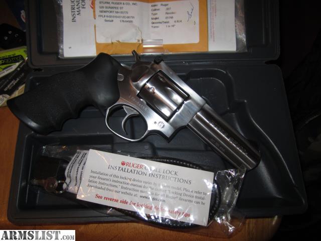 Armslist for sale ruger gp100 327 federal magnum