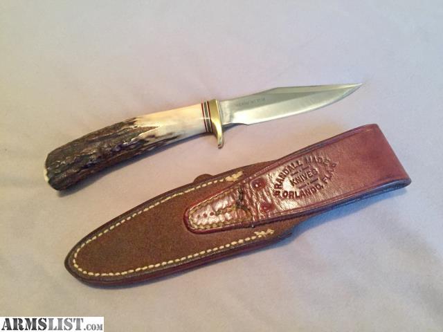 vintage Randall knife