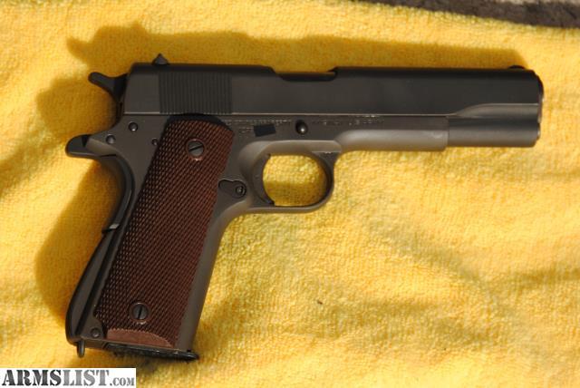 Armslist For Sale 1941 Colt 1911 Ria Rebuild