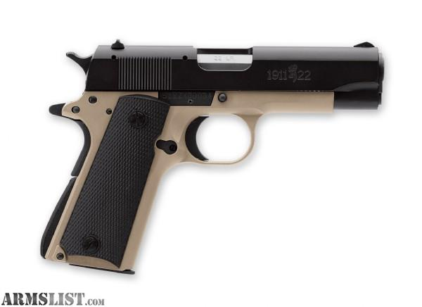 For sale browning 1911 22 perfect carry gun with holster and 3 mags