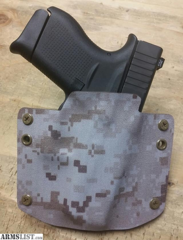 armslist for sale glock 43 kydex holster right handed