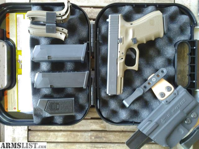 armslist for saletrade fde glock 19 gen 4 holster