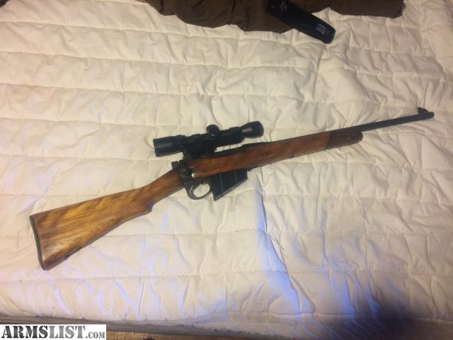 ARMSLIST - For Sale: 303 British rifle with scope
