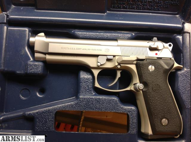 ARMSLIST - For Sale/Trade: Beretta 92FS Stainless