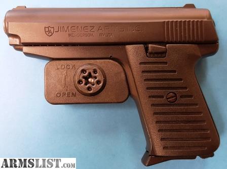 ARMSLIST - For Sale: Jimenez Arms JA 380 Satin Black Finish (NEW IN