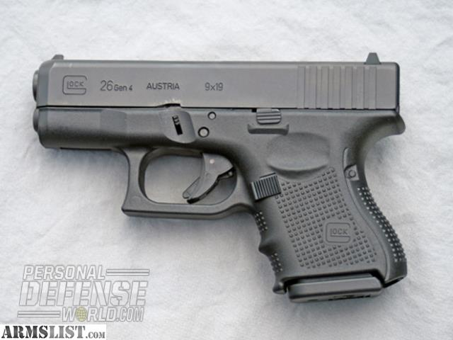 ARMSLIST - Want To Buy: Glock 26