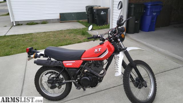Armslist For Sale Trade 1982 Yamaha Xt250