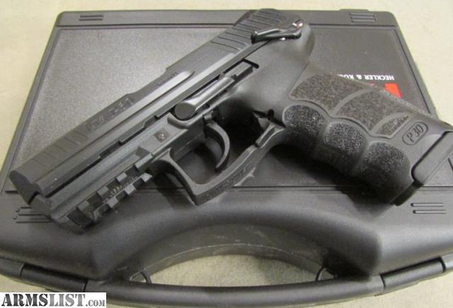 Armslist for sale heckler kock p30s for Koch 63 od manual