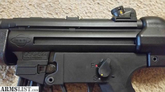 ARMSLIST - For Sale:  22 , GSG 522 with Conversion, Trigger Job