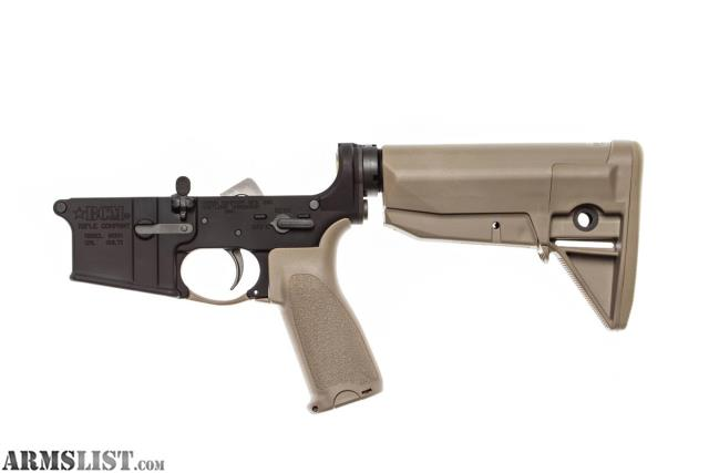 armslist   for sale bcm complete lower fde layaway bravo