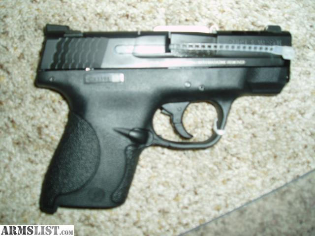 Armslist for sale smith wesson 11631 m p shield pro for M p ported shield 9mm