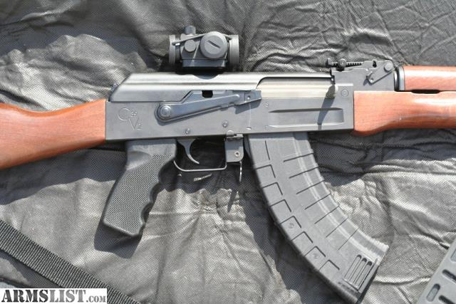 Armslist For Sale Ak 47 With Scope Mount Red Dot Sight