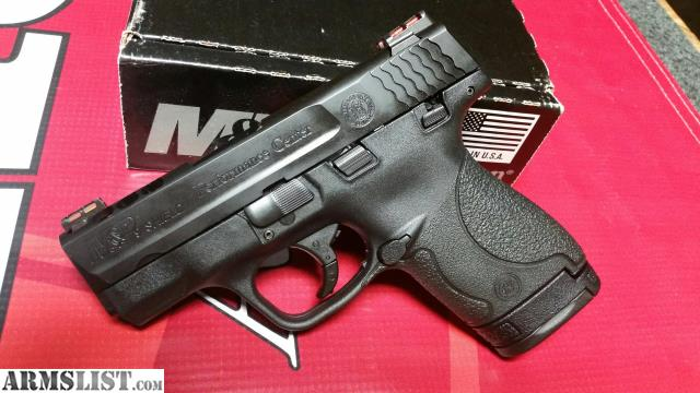 Armslist for sale smith wesson m p 9mm shield for M p ported shield 9mm